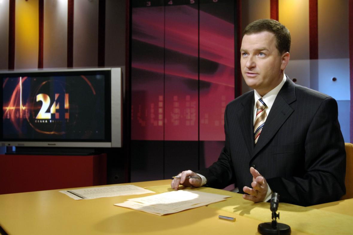 Bohumil Klepetko a úplně první zprávy na ČT24