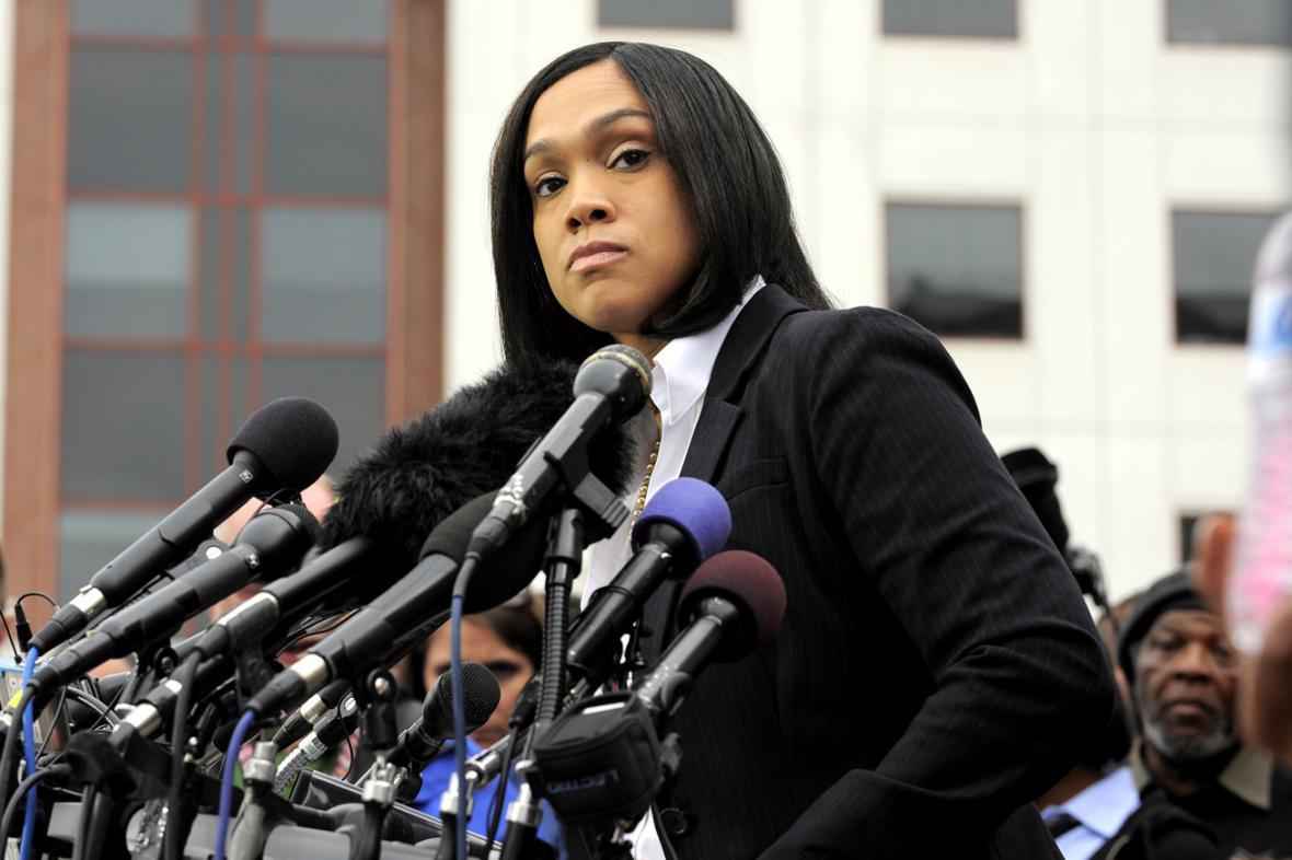 Baltimorská prokurátorka Marilyn Mosbyová