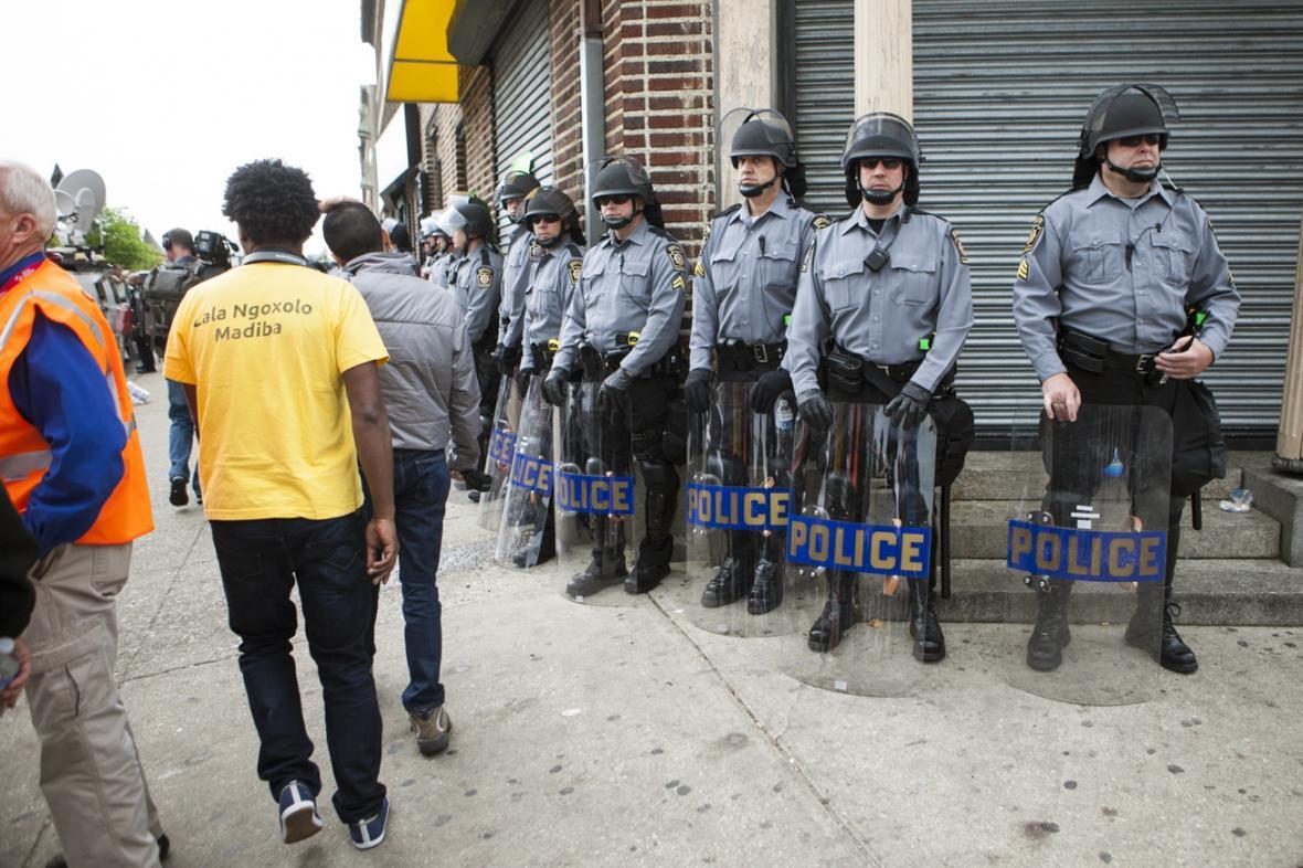 Policejní dohled v Baltimoru