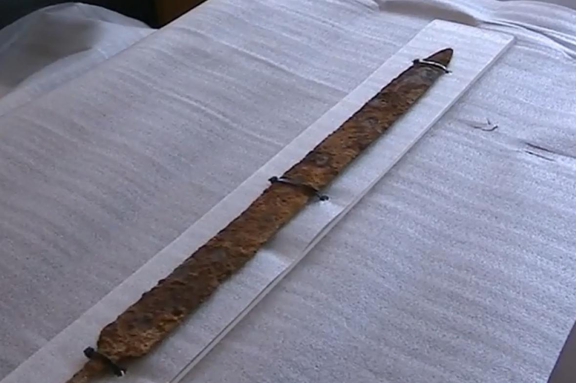 Keltský meč byl vyroben 450 let před naším letopočtem