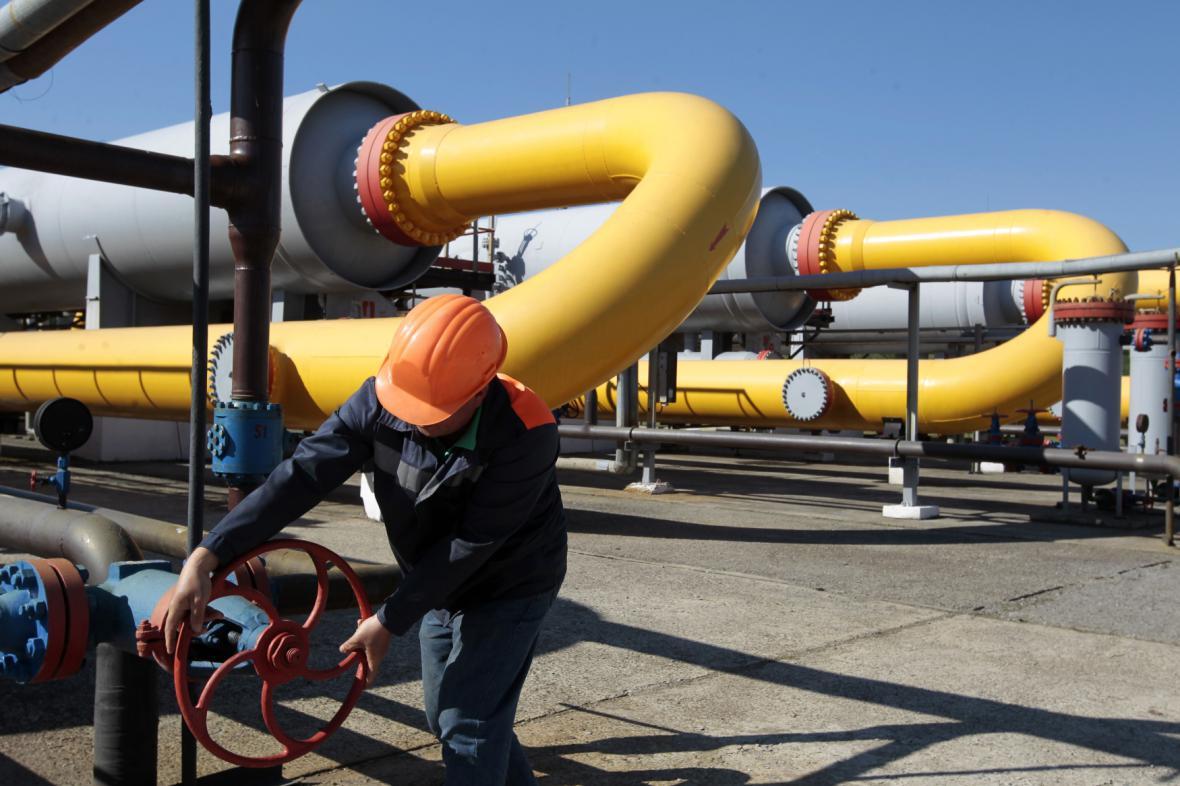 Ukrajinské zásobníky plynu