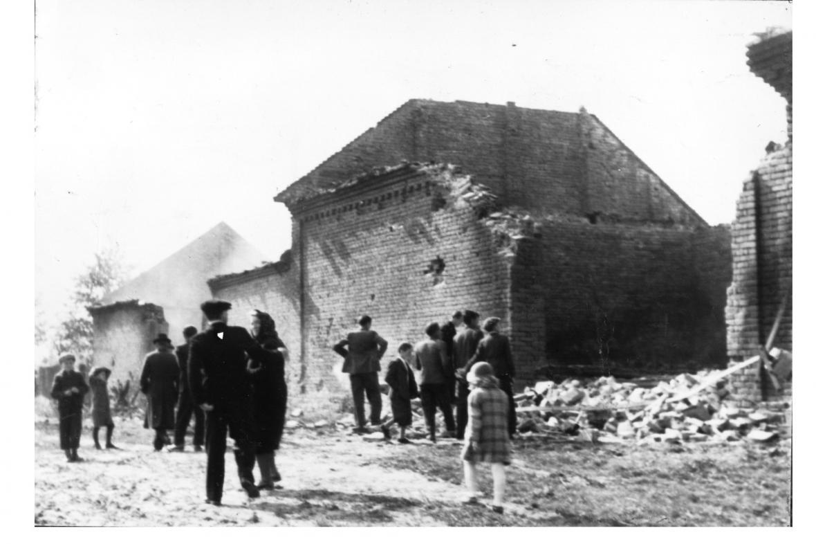 Škody po bitvě v Břestě