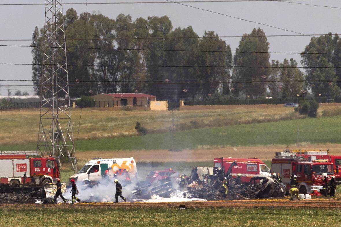 Nehoda u Sevilly