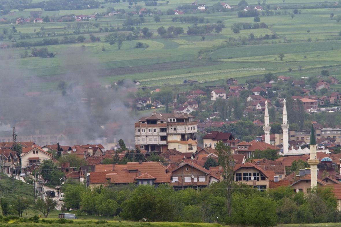 Policejní zásah v makedonském Kumanovu