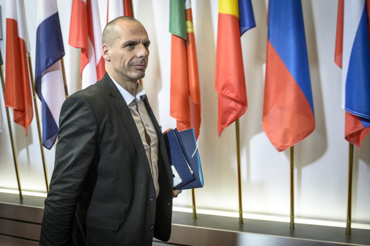 Ministr financí Janis Varufakis