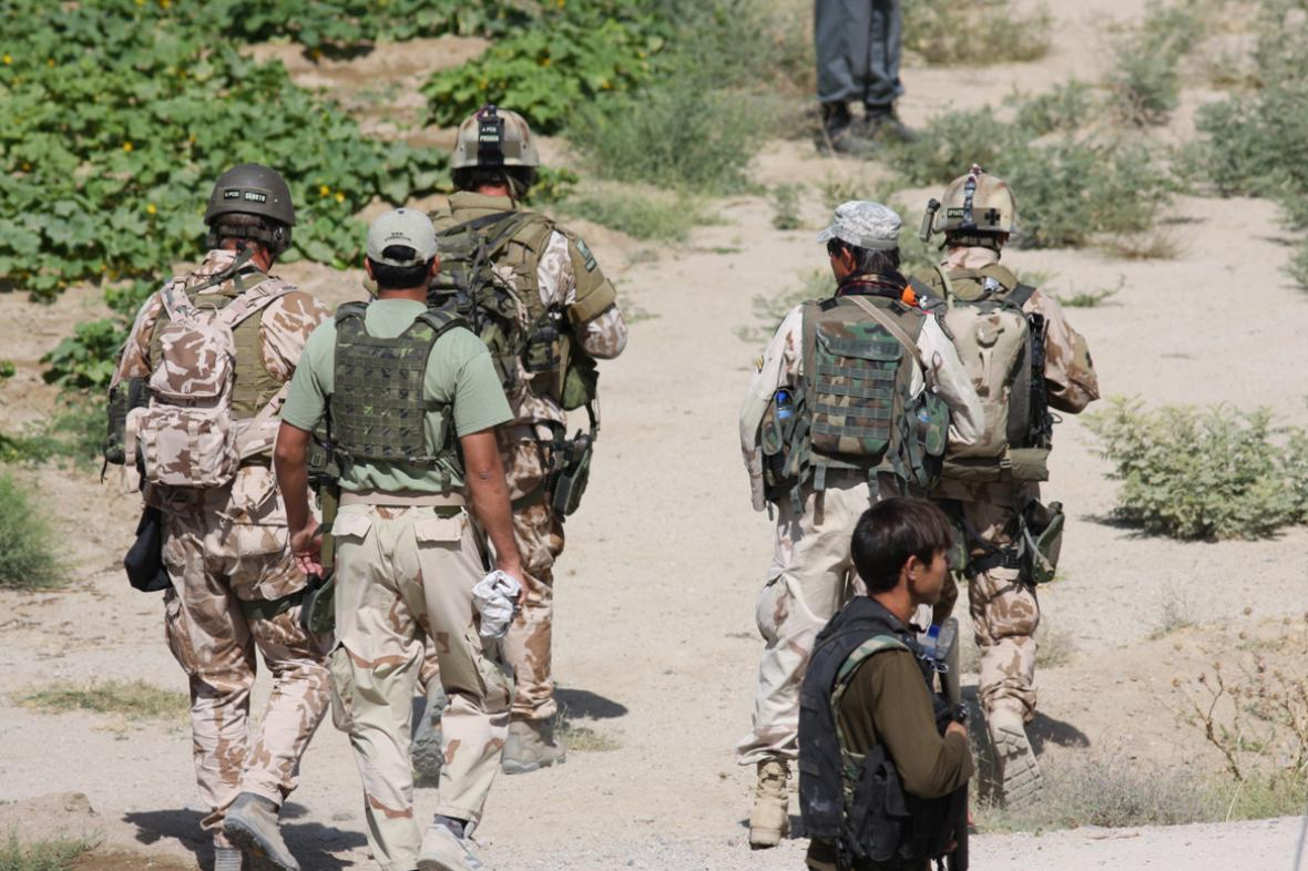 Mise 601. skupiny speciálních sil v Afghánistánu