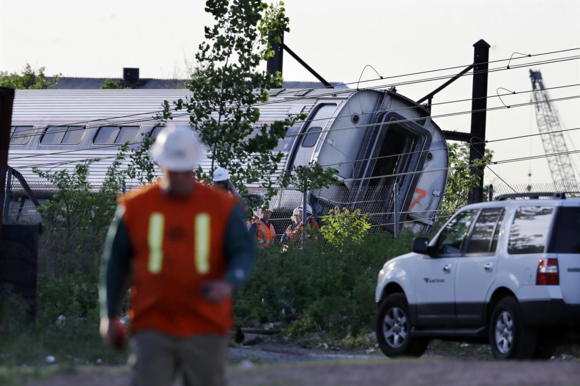 Nehoda vlaku ve Filadelfii