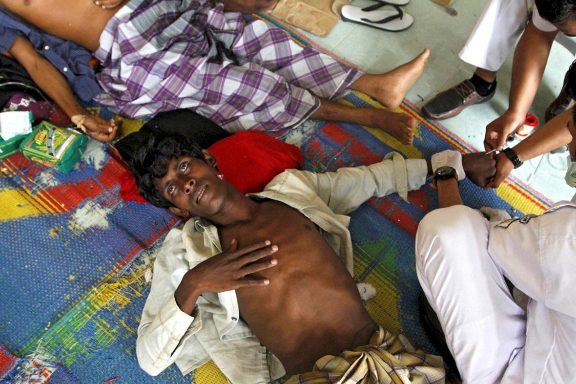 Uprchlíci zachránění o víkendu indonéskými úřady
