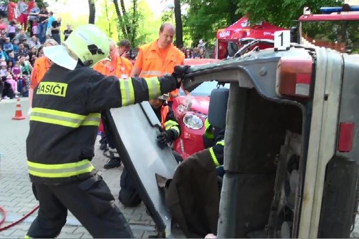 Den záchranářů v Kolíně