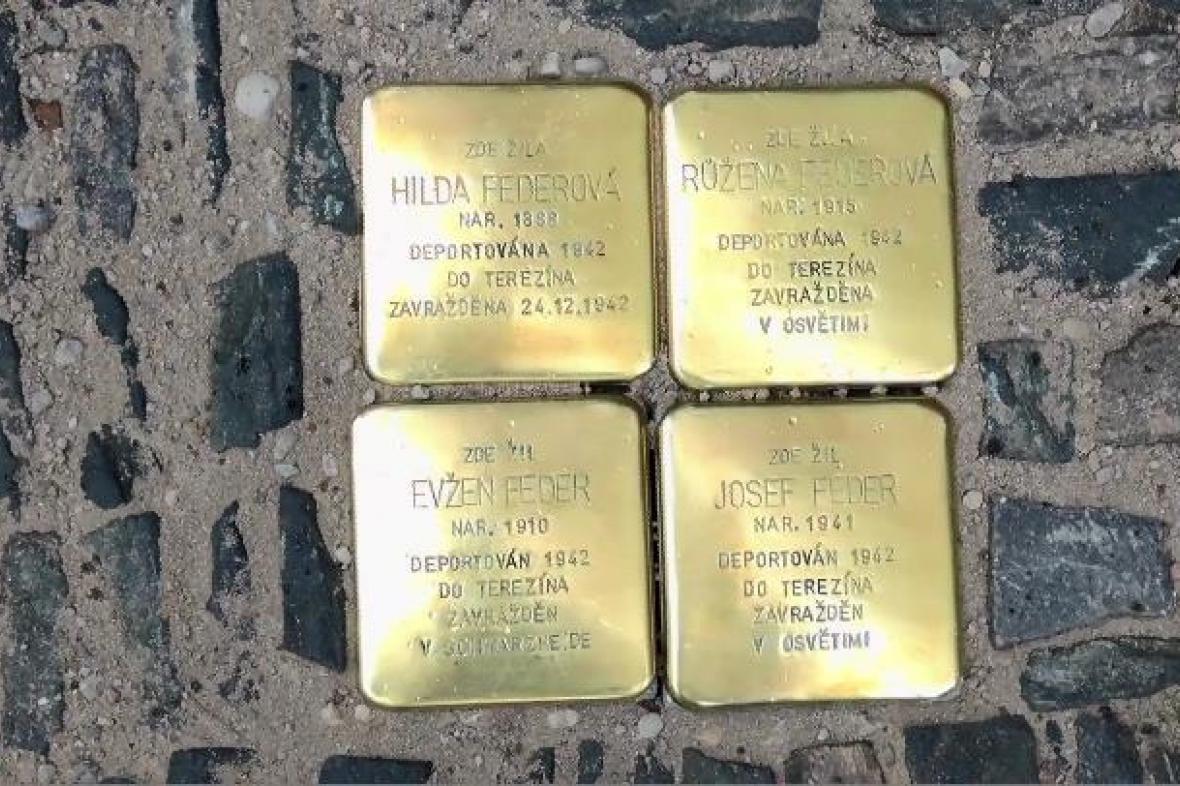 Stolpersteine v Kolíně