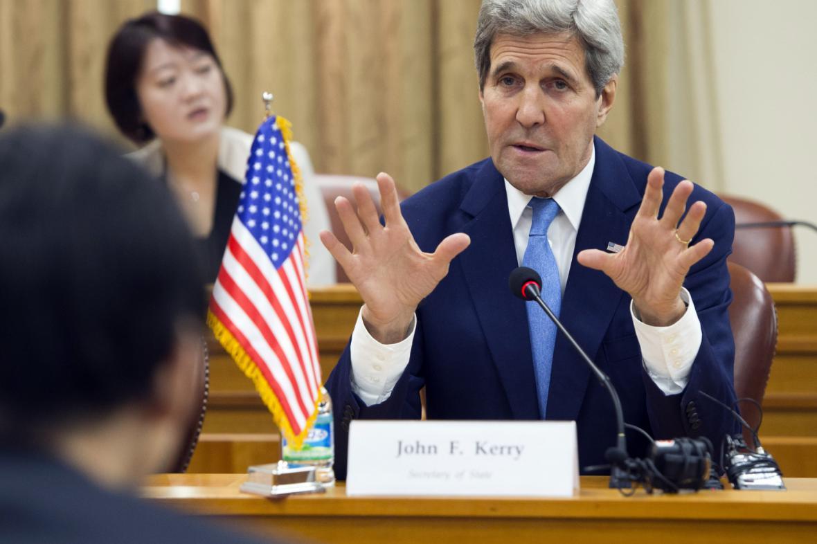Šéf americké diplomacie John Kerry na návštěvě v Jižní Koreji