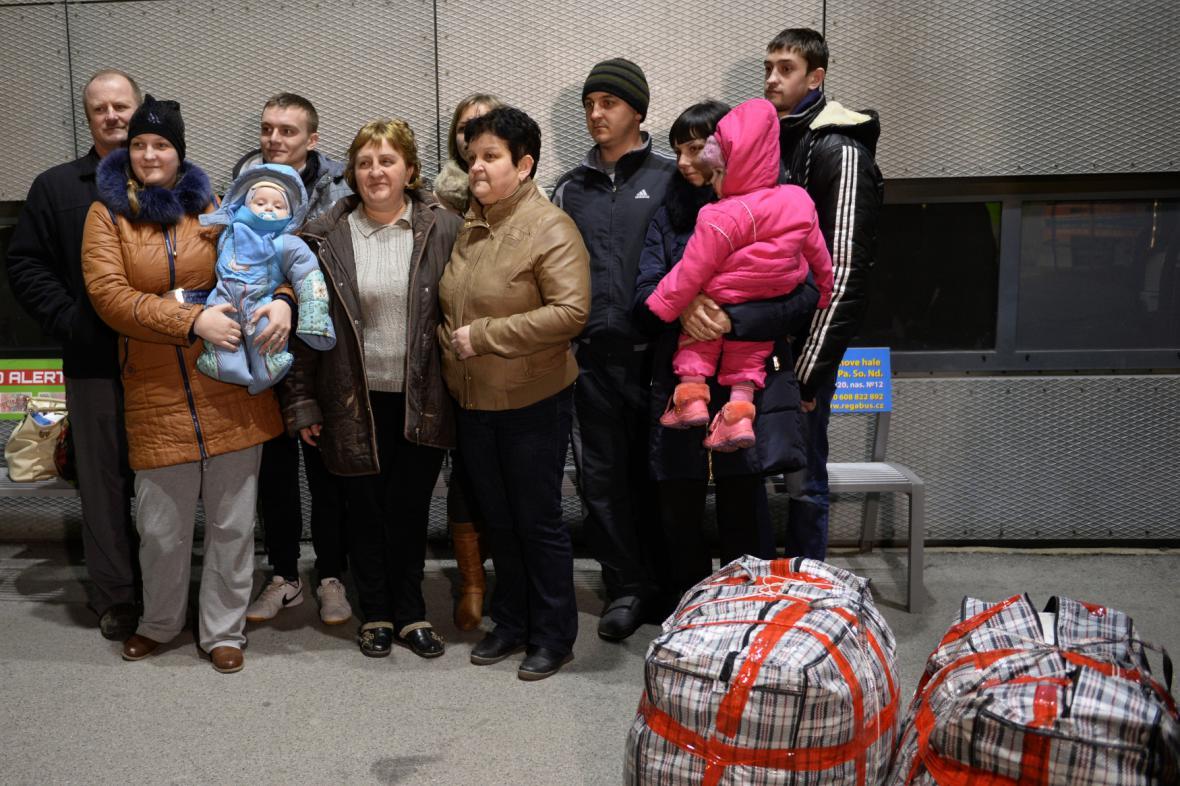 Krajani z Čechohradu dorazili začátkem března