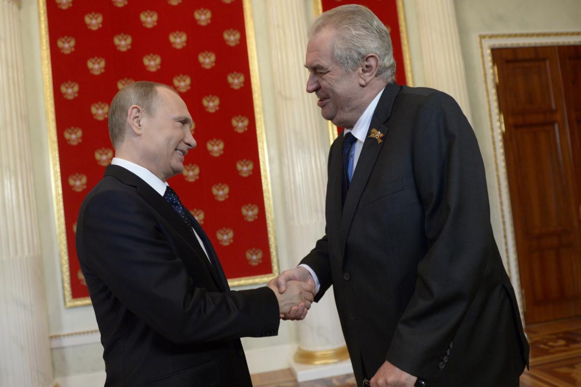 Přivítání v Kremlu