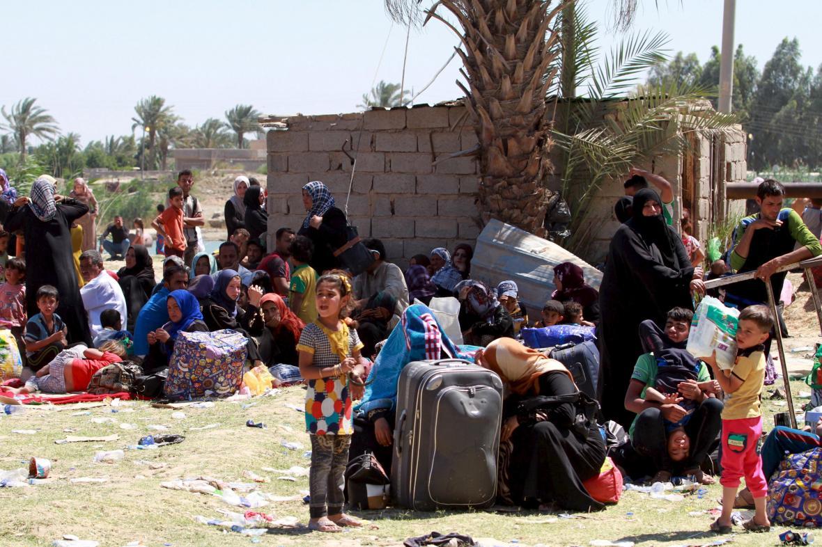 Vysídlení obyvatelé Ramádí