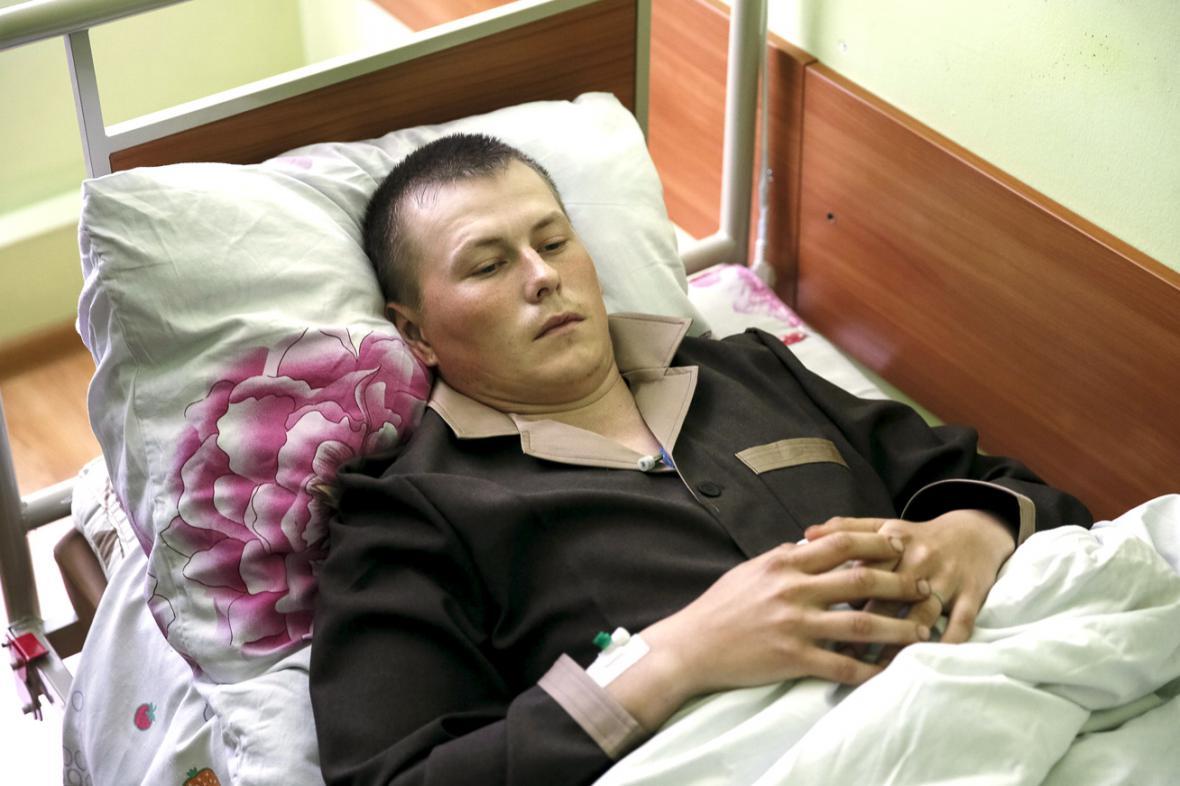 Zadržený ruský voják Alexandr Alexandrov