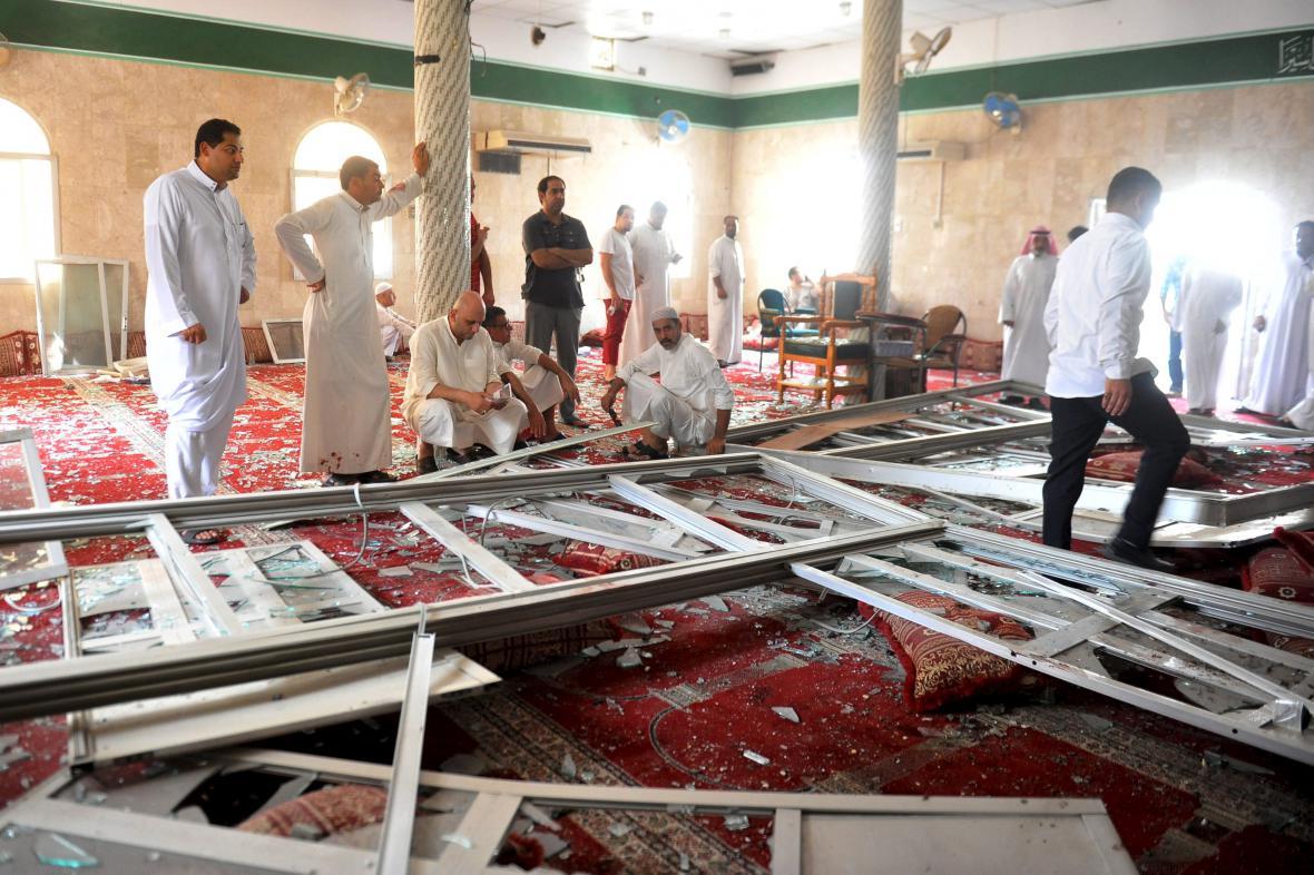 Útok na mešitu v Saúdské Arábii
