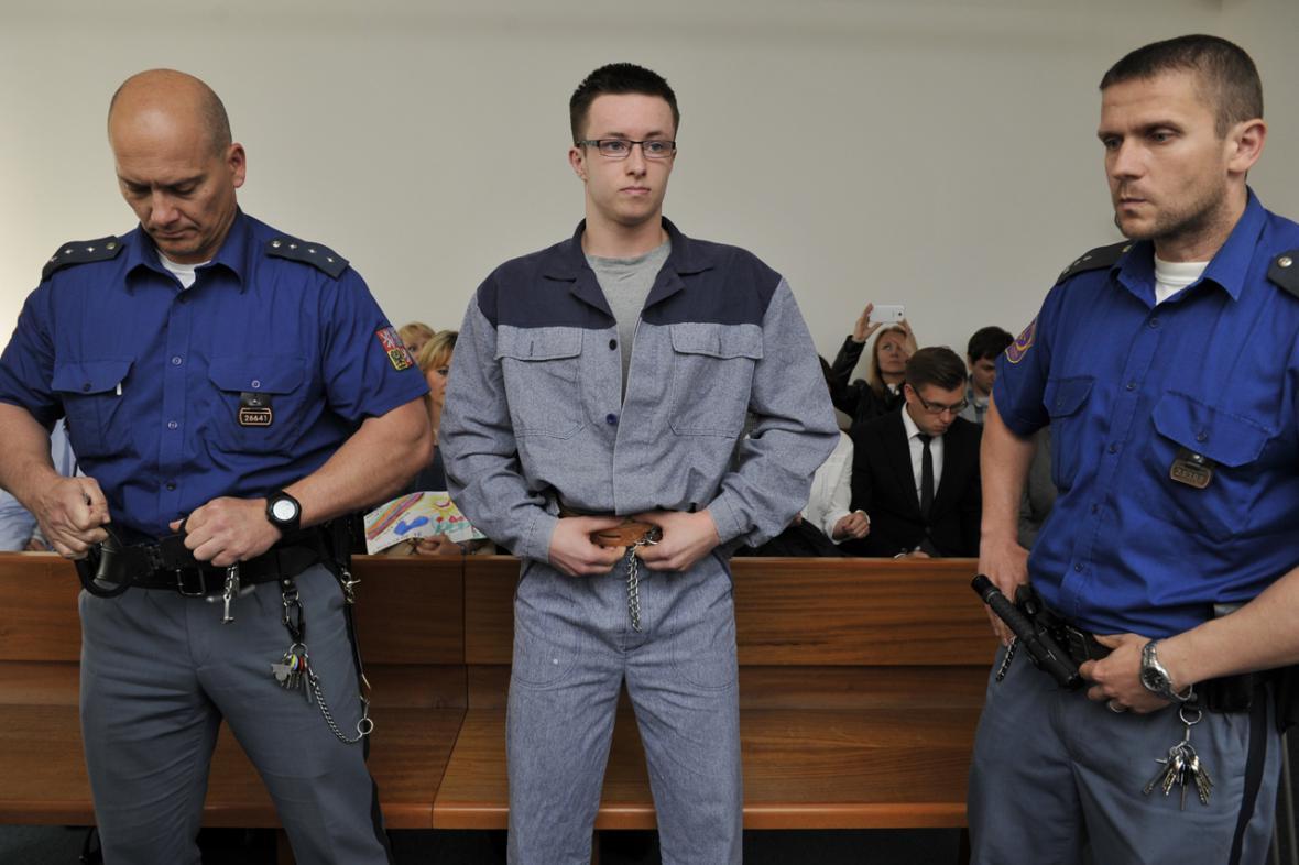 Lukáš Nečesaný, mladík obviněný z vraždy