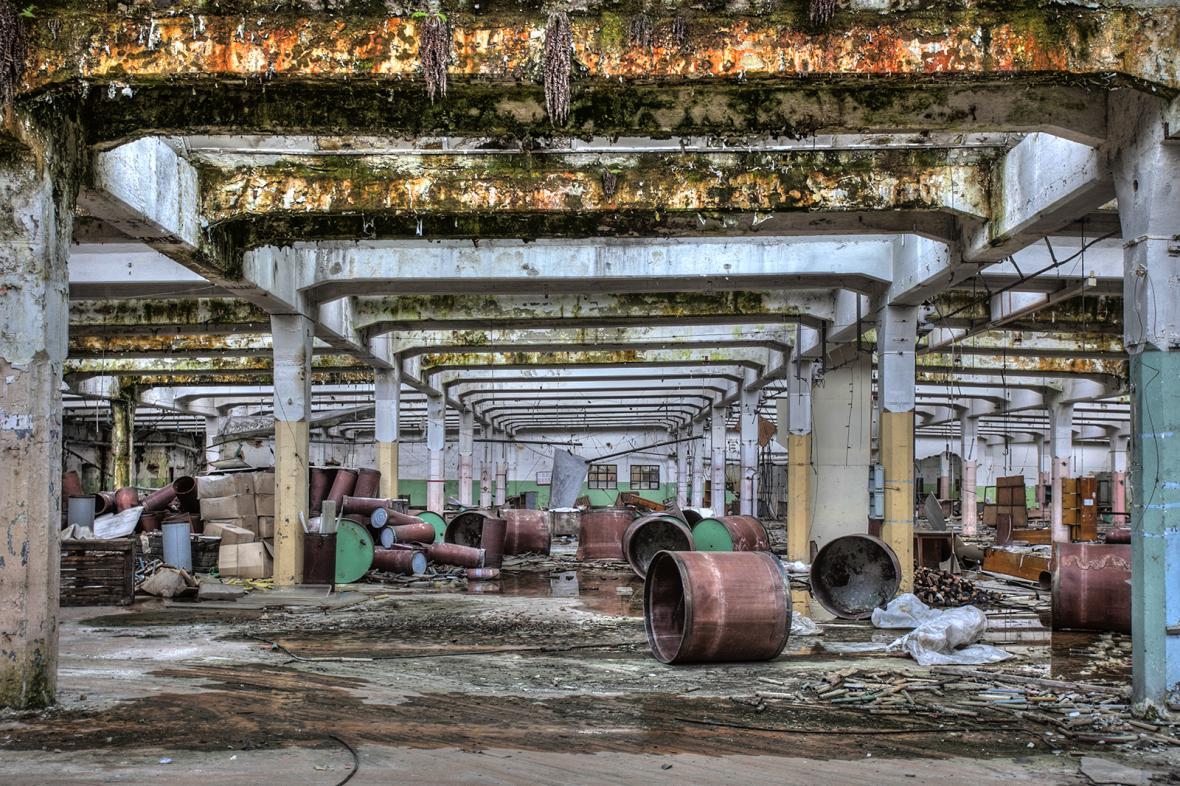 Areál bývalé Schindlerovy továrny v Brněnci