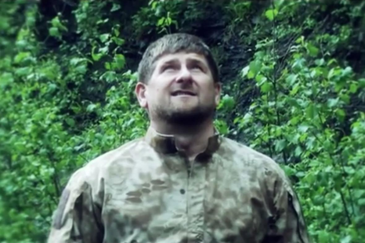 Ramzam Kadyrov ve svém filmovém debutu