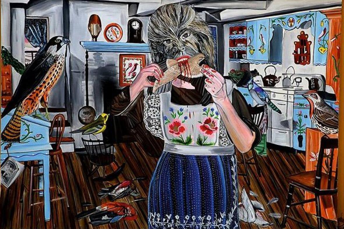 Jan Vytiska vystavuje v Industrial Gallery