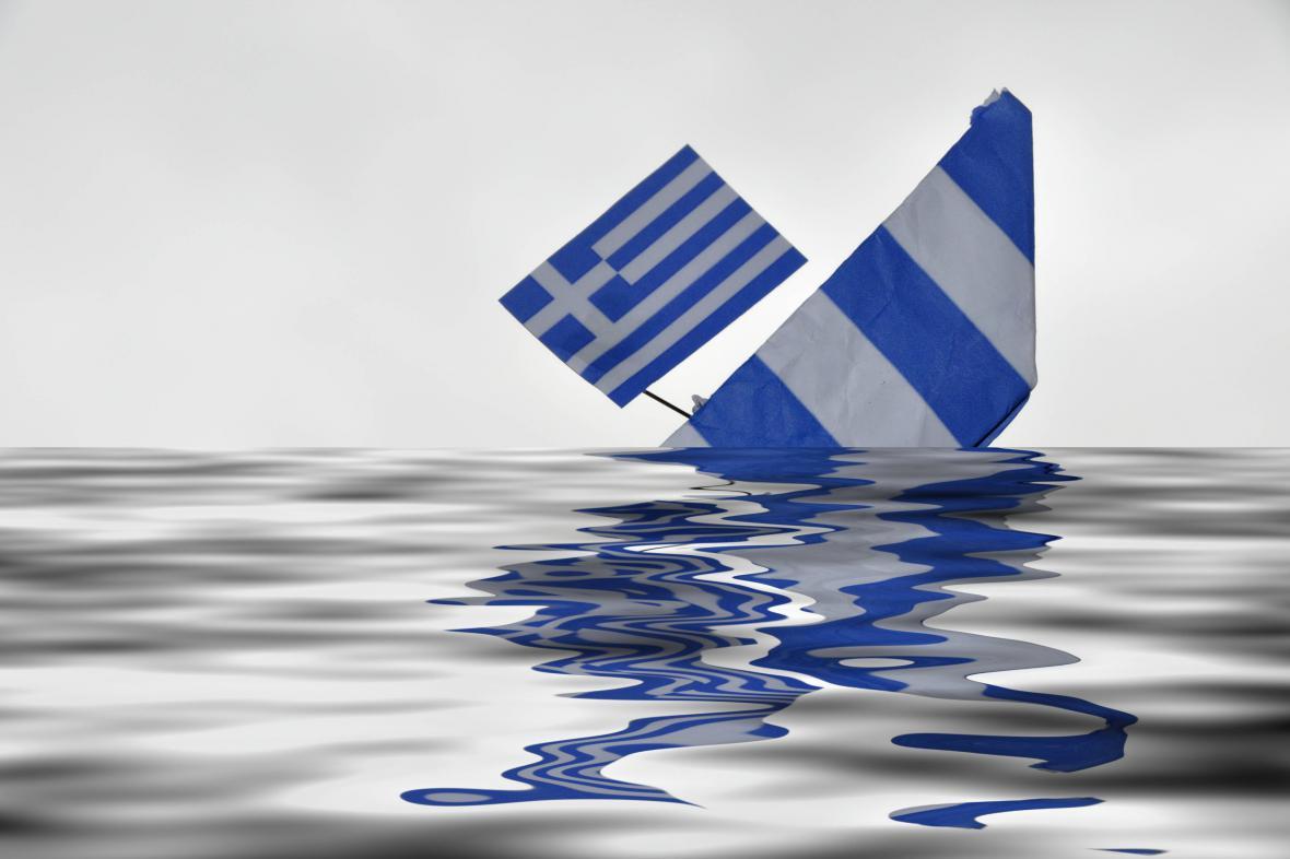 Potápějící se Řecko