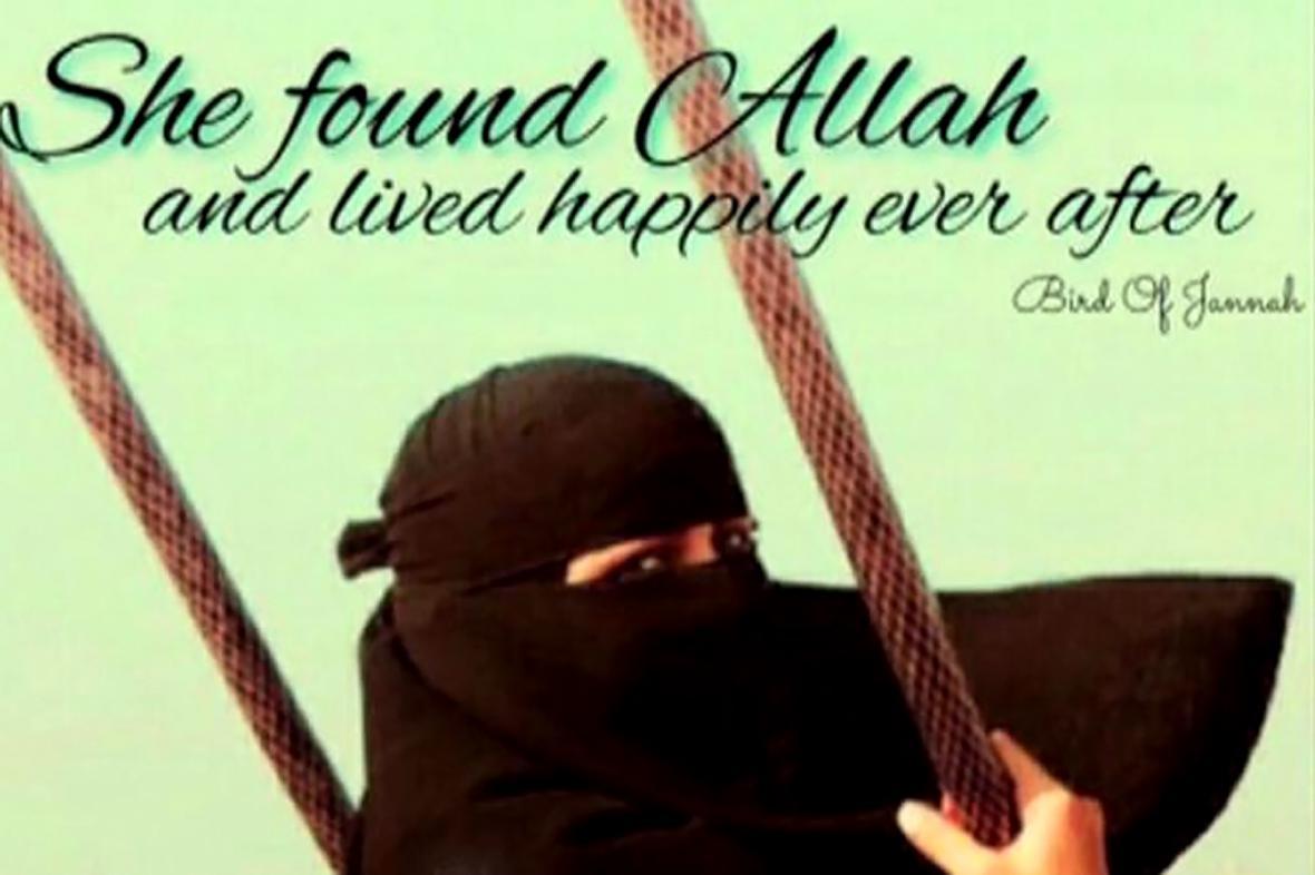 Propaganda lákající dívky do řad islamistů