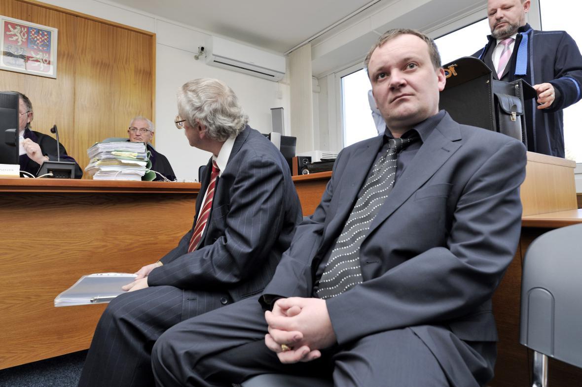 Ladislav Jelínek (vpravo) s Josefem Knotkem