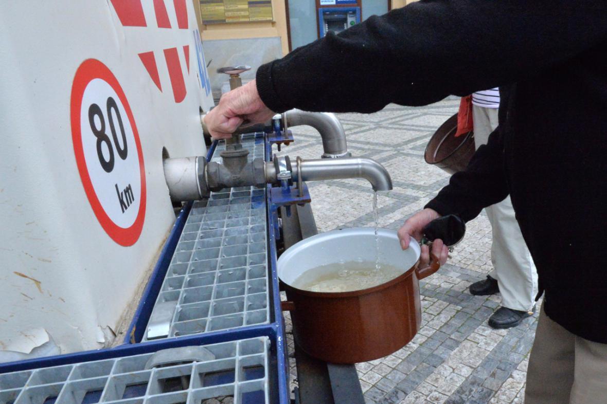 Odstávka pitné vody