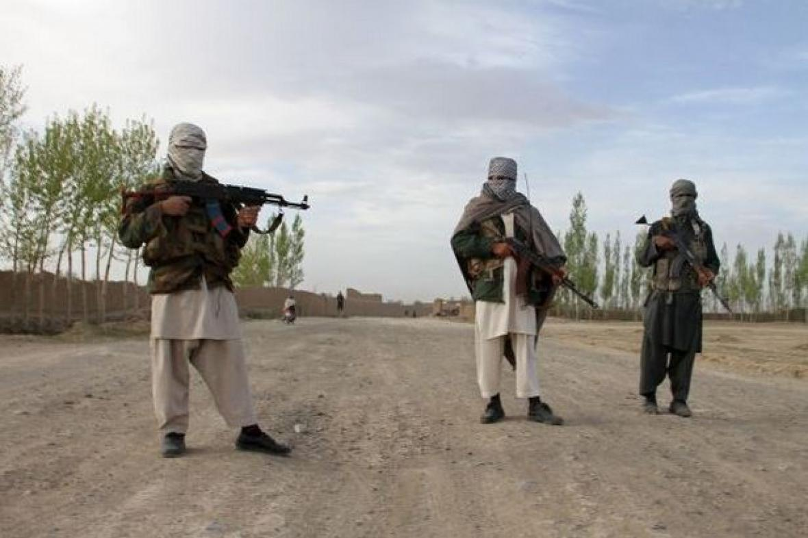 Členové Talibanu v Afghánistánu
