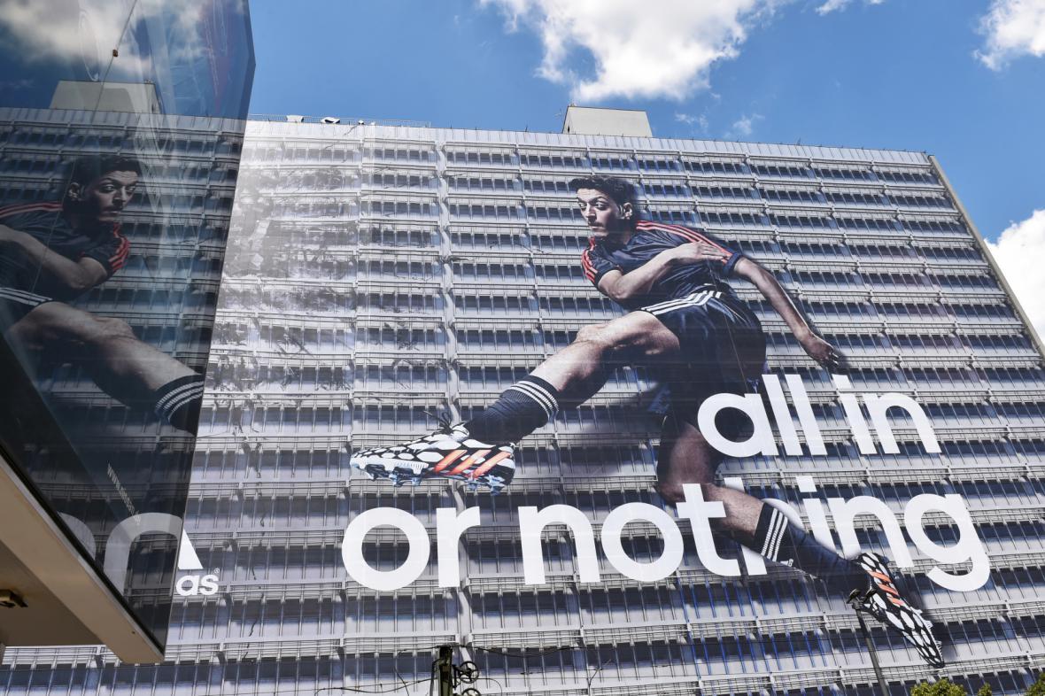 Reklamní kampaň firmy Adidas
