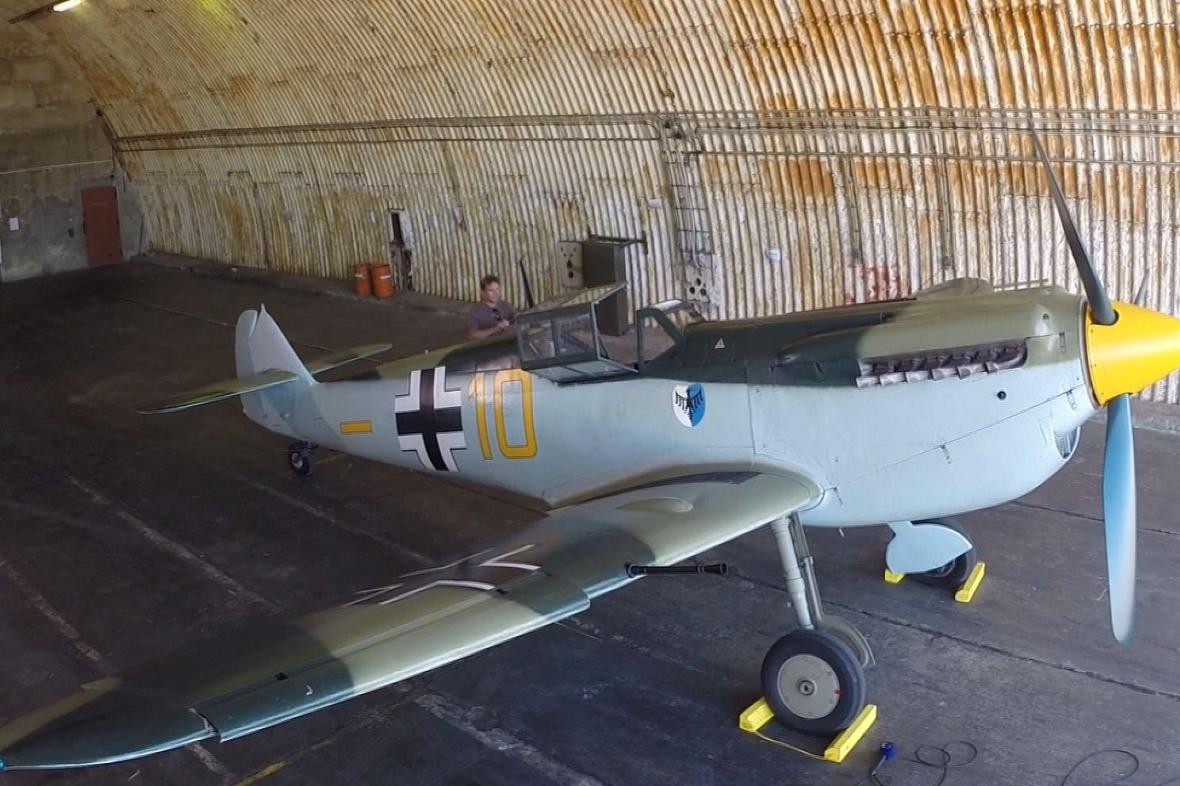 Španělská verze letounu Messerschmitt Bf 109