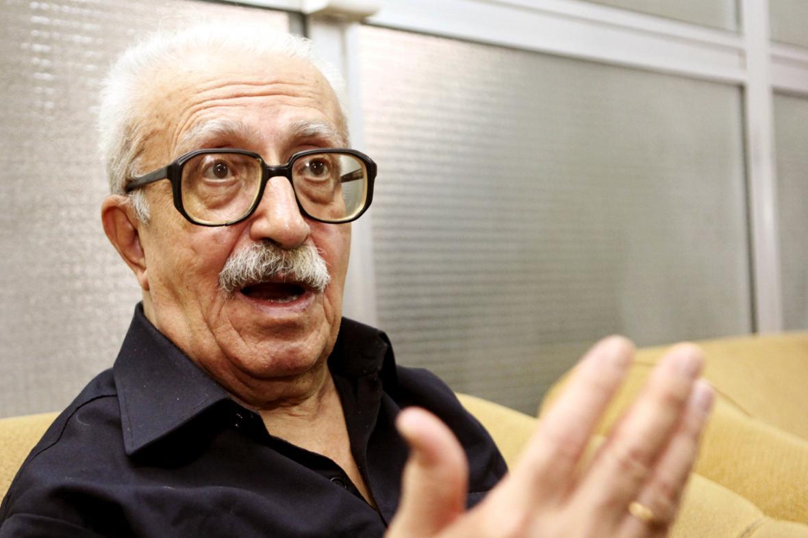 Tárik Azíz na snímku z roku 2010
