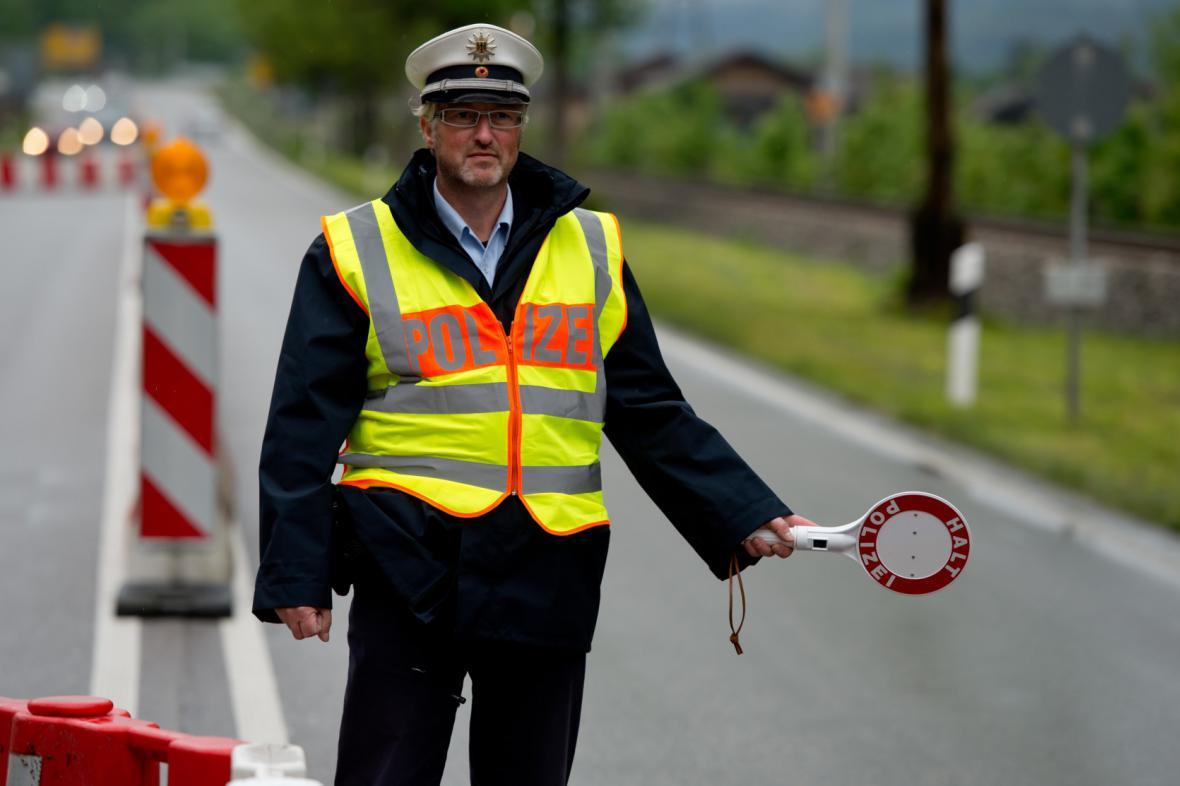 Hraniční kontroly v Německu