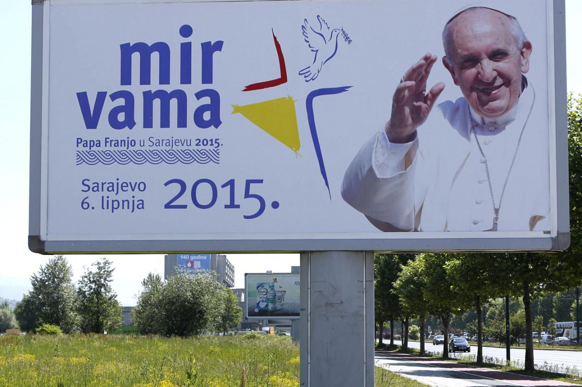 Sarajevo uvítá papeže Františka