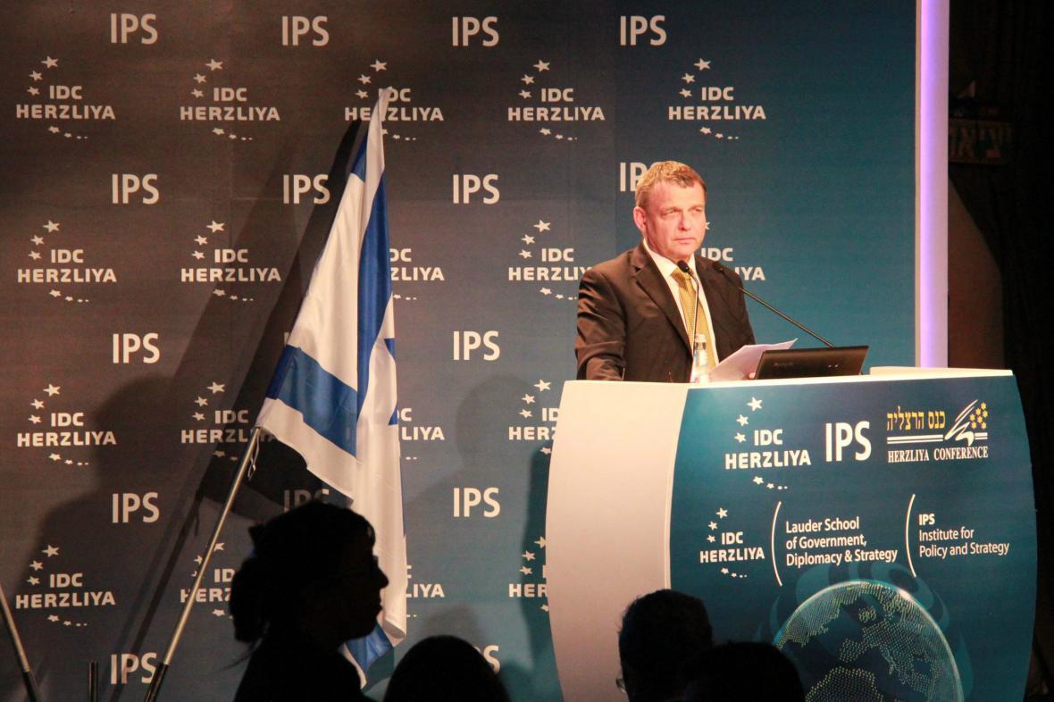 Lubomír Zaorálek na bezpečnostní konferenci v Izraeli