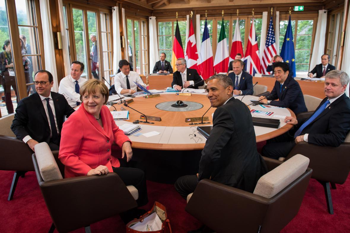 Jednání zástupců nejmocnějších zemí světa
