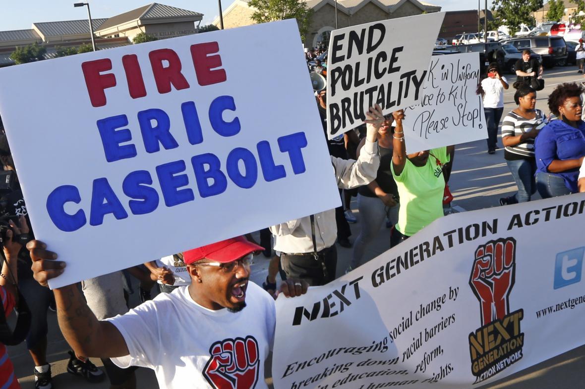 Protesty v McKinney kvůli zákroku policisty