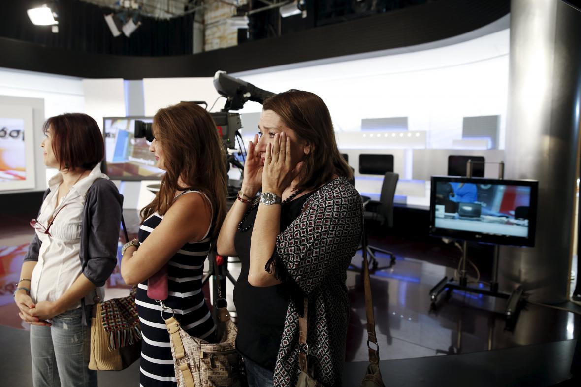 Řecká veřejnoprávní televize ERT obnovila vysílání