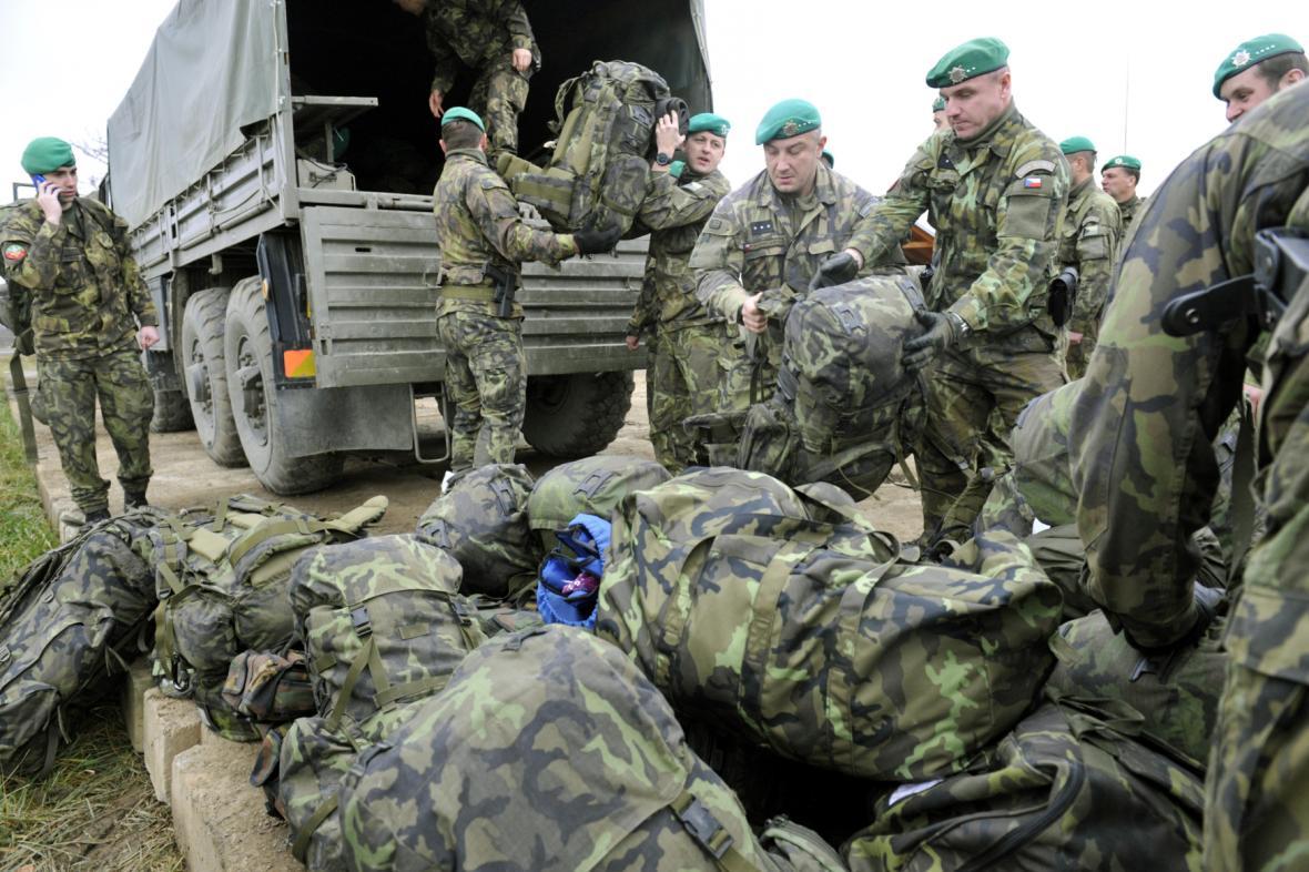 Čeští vojáci