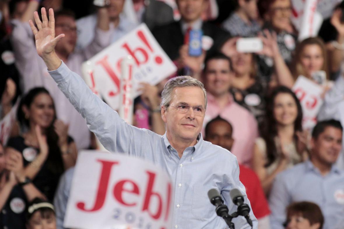 Jeb Bush oznámil svou kandidaturu