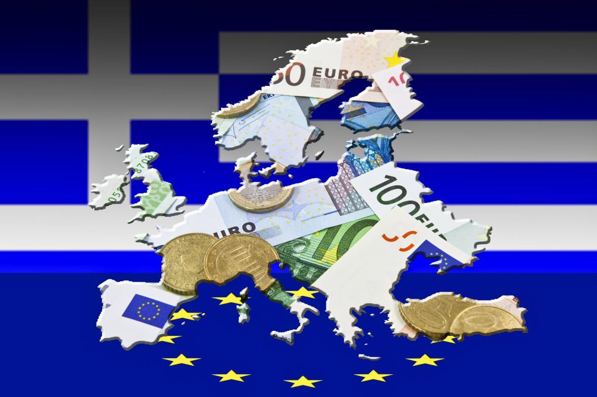 Řecko z euromapy ven?