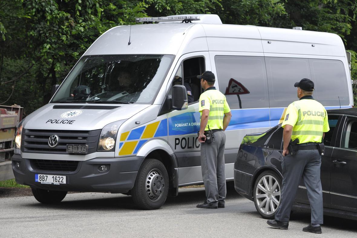 Policisté pátrají po střelci ze Žebětína