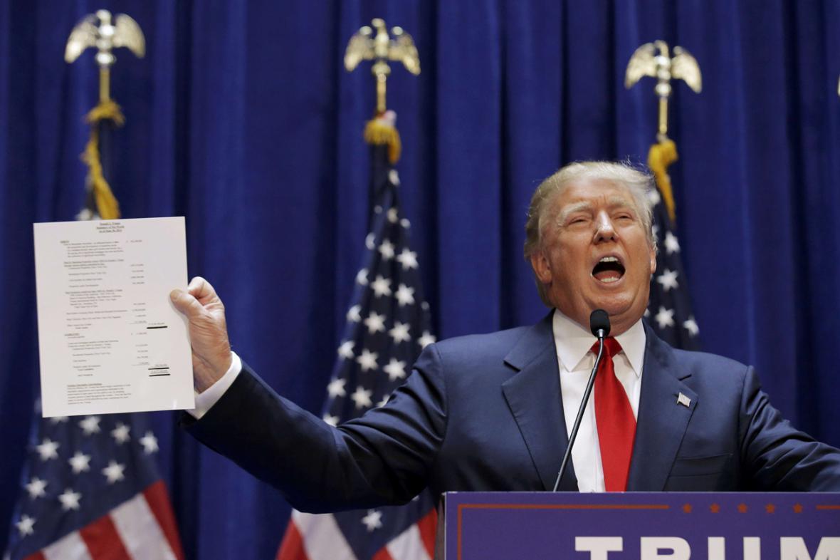 Donald Trump se bude ucházet o prezidentský úřad