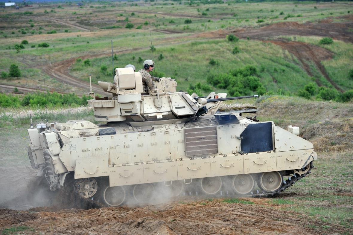 Bojové vozidlo Bradley