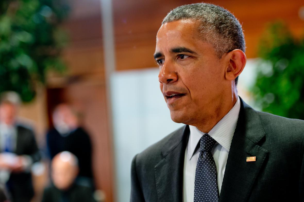 Barack Obama na summitu G7