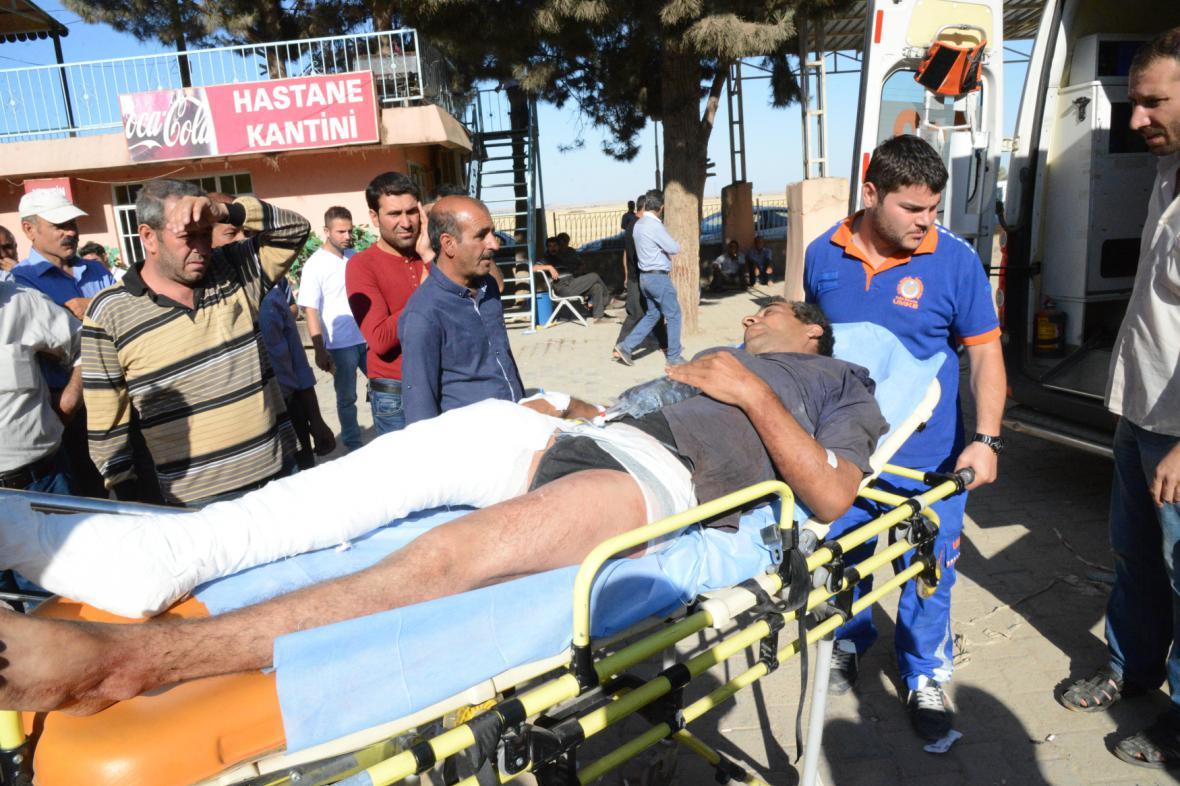 Útok radikálů na Kobani