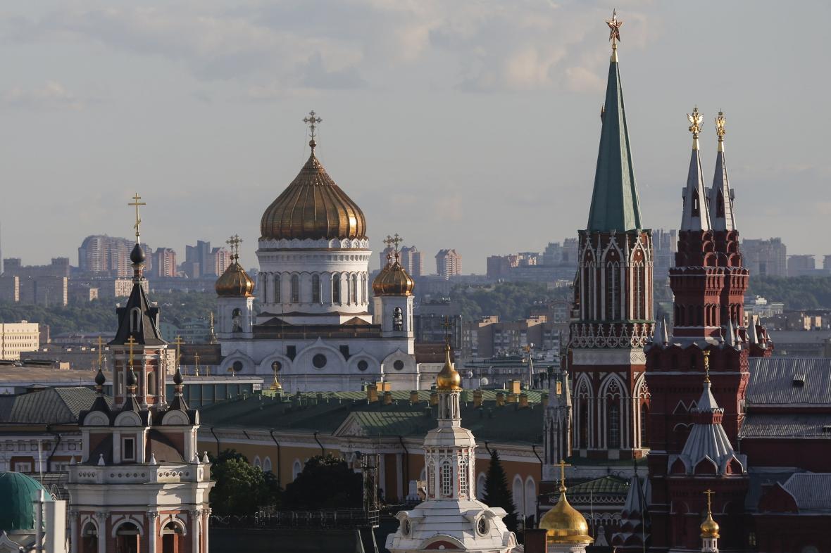 Historické centrum Moskvy