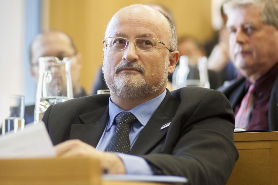 Odvolaný primátor Jiří Svoboda (ANO)