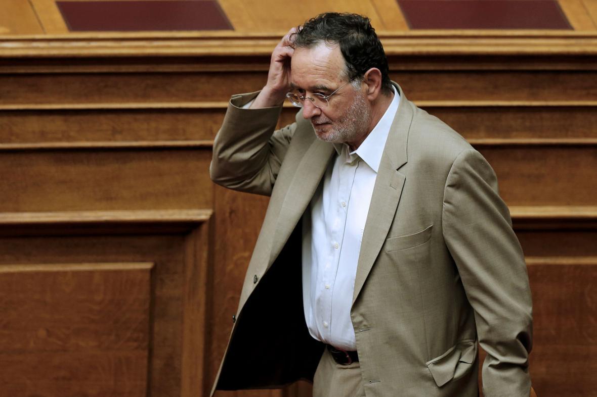 Řecký ministr životního prostředí a energetiky Panagiotis Lafazanis