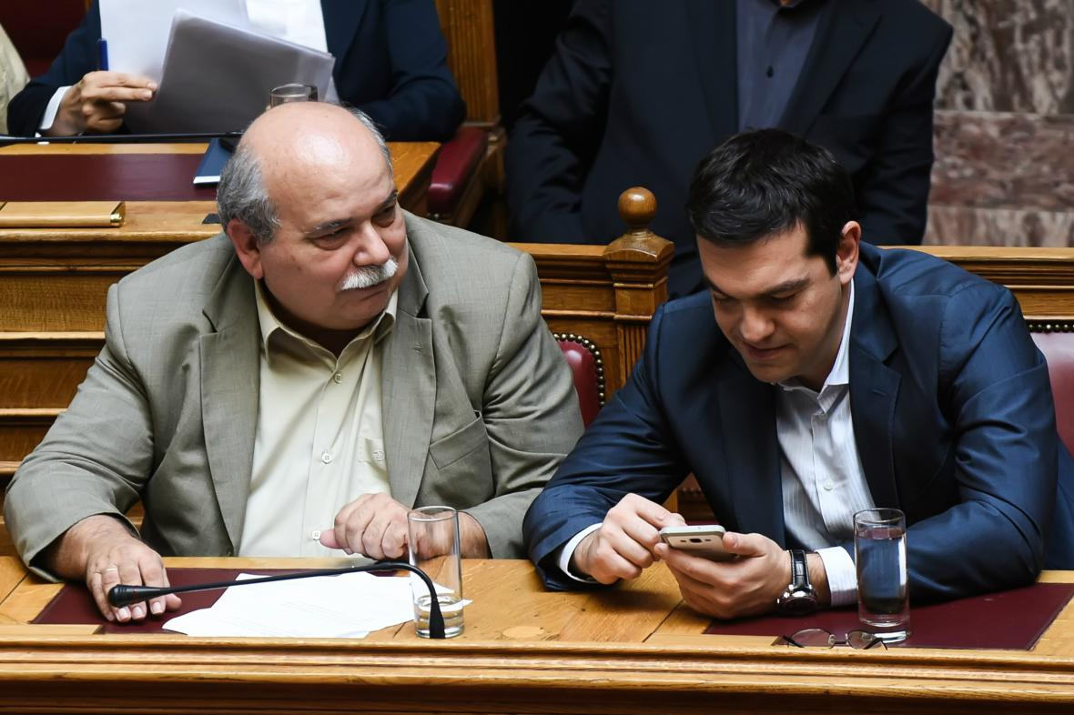 Nikos Vutsis a Alexis Tsipras